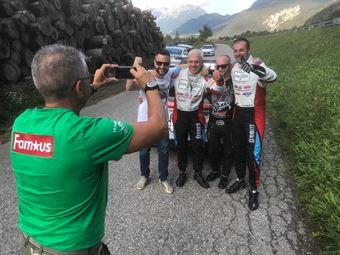 Sossella e Falzone festeggiano dopo PS7, CAMPIONATO ITALIANO WRC